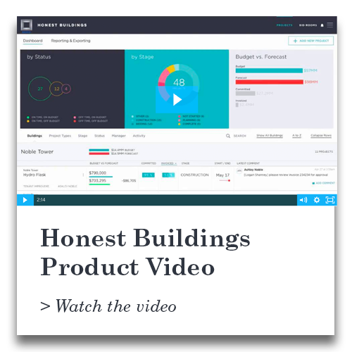 Honest Buildings Product Overview Video