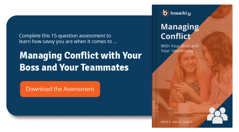 managing conflict with your boss and your teammates