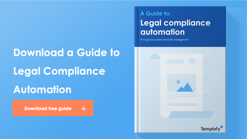 Download guide to legal compliance automation