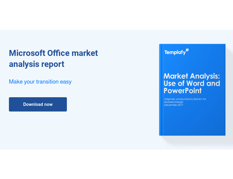 Microsoft Office market analysis report  Make your transition easy Download now