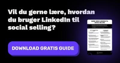 Social selling på LinkedIn guide