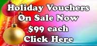 $99 Holiday Voucher Sale Button