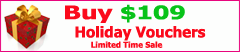 Holiday Voucher Sale