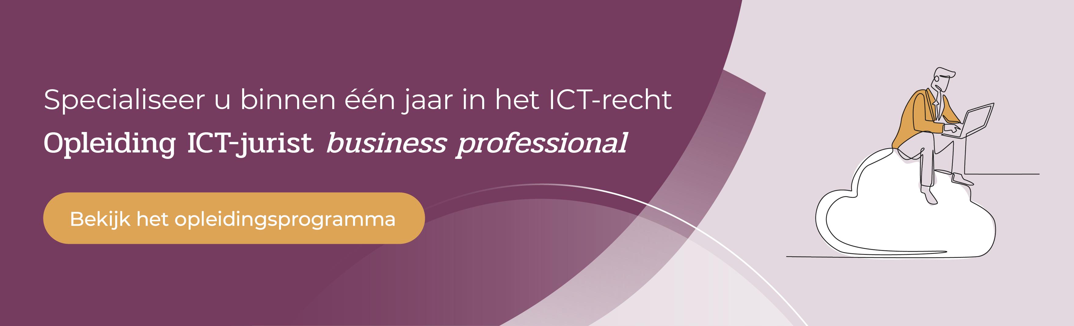 Opleiding ICT-jurist