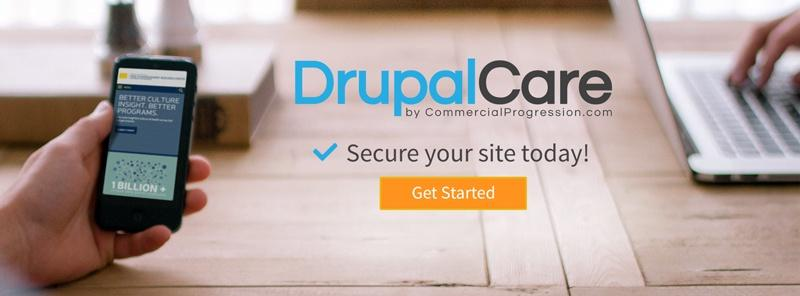 DrupalCare Drupal support, security, maintenance plans
