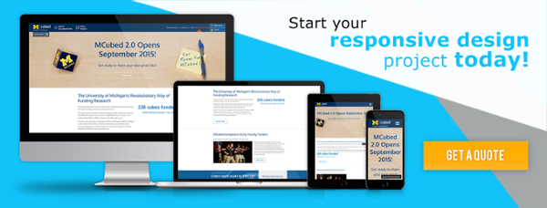 Start a Drupal Responsive Website Design Project