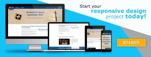 Start a Drupal Responsive Website Design Project