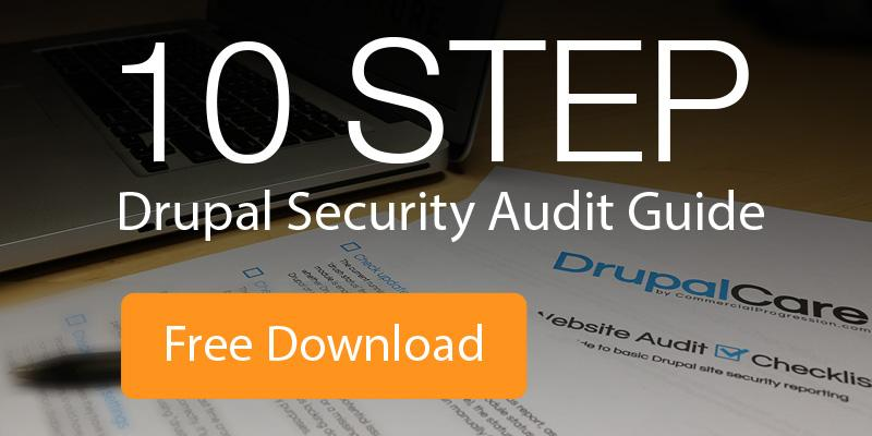 10 Step Drupal Security Audit Guide, Free Download