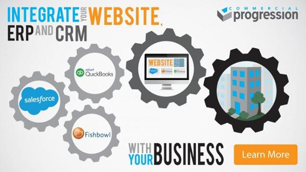 Drupal website integration with ERP and CRM