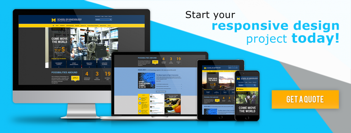 Start a Drupal Responsive Web Design Project