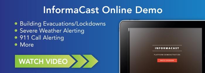InformaCast Online Demo