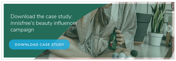 innisfree beauty influencer case study - download now