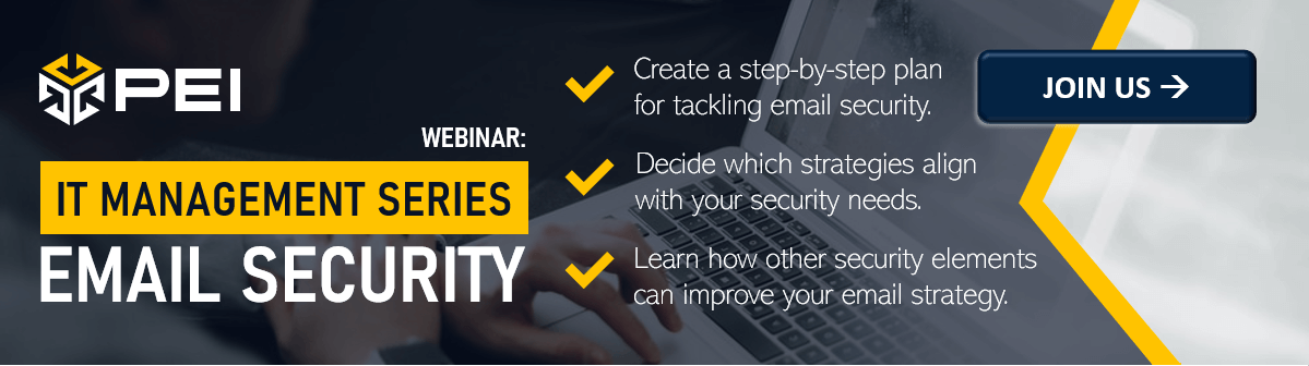 Webinar: Email Security Management from our IT Management Series