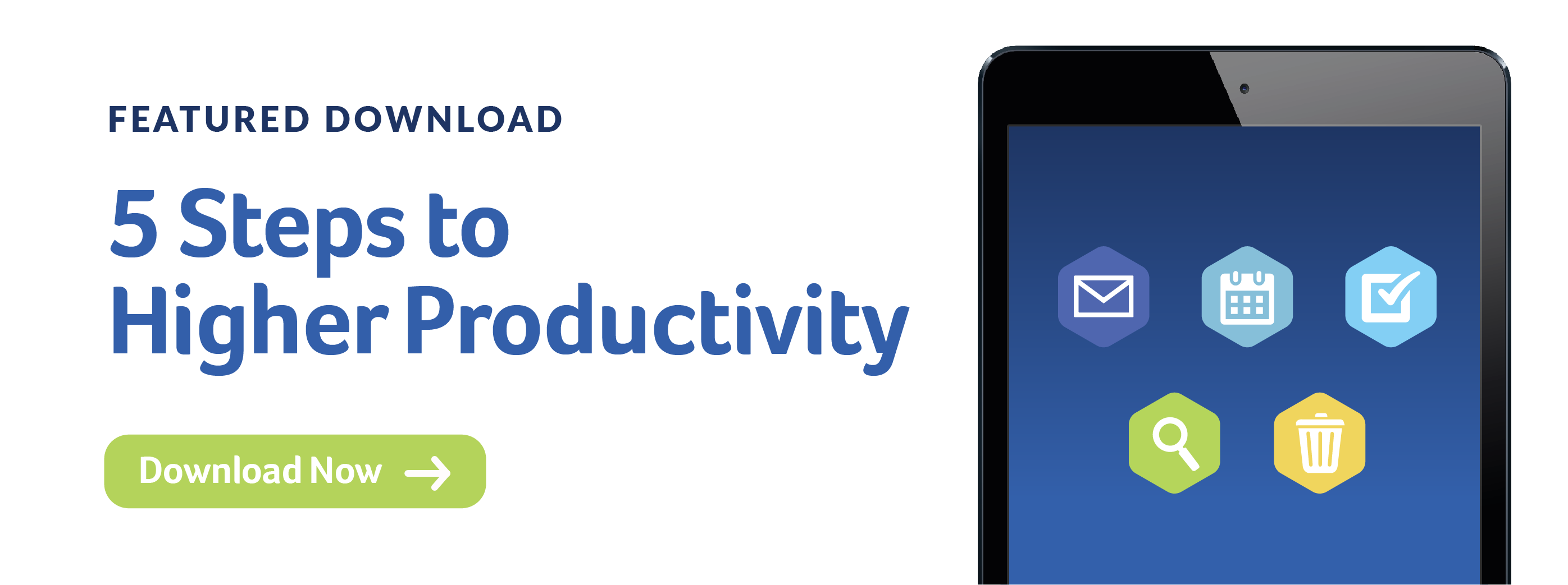 5 Steps to Higher Productivity Download