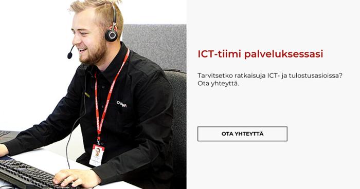 ICT-tiimi palveluksessasi