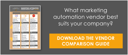 Download the Marketing Automation Vendor Comparison Guide