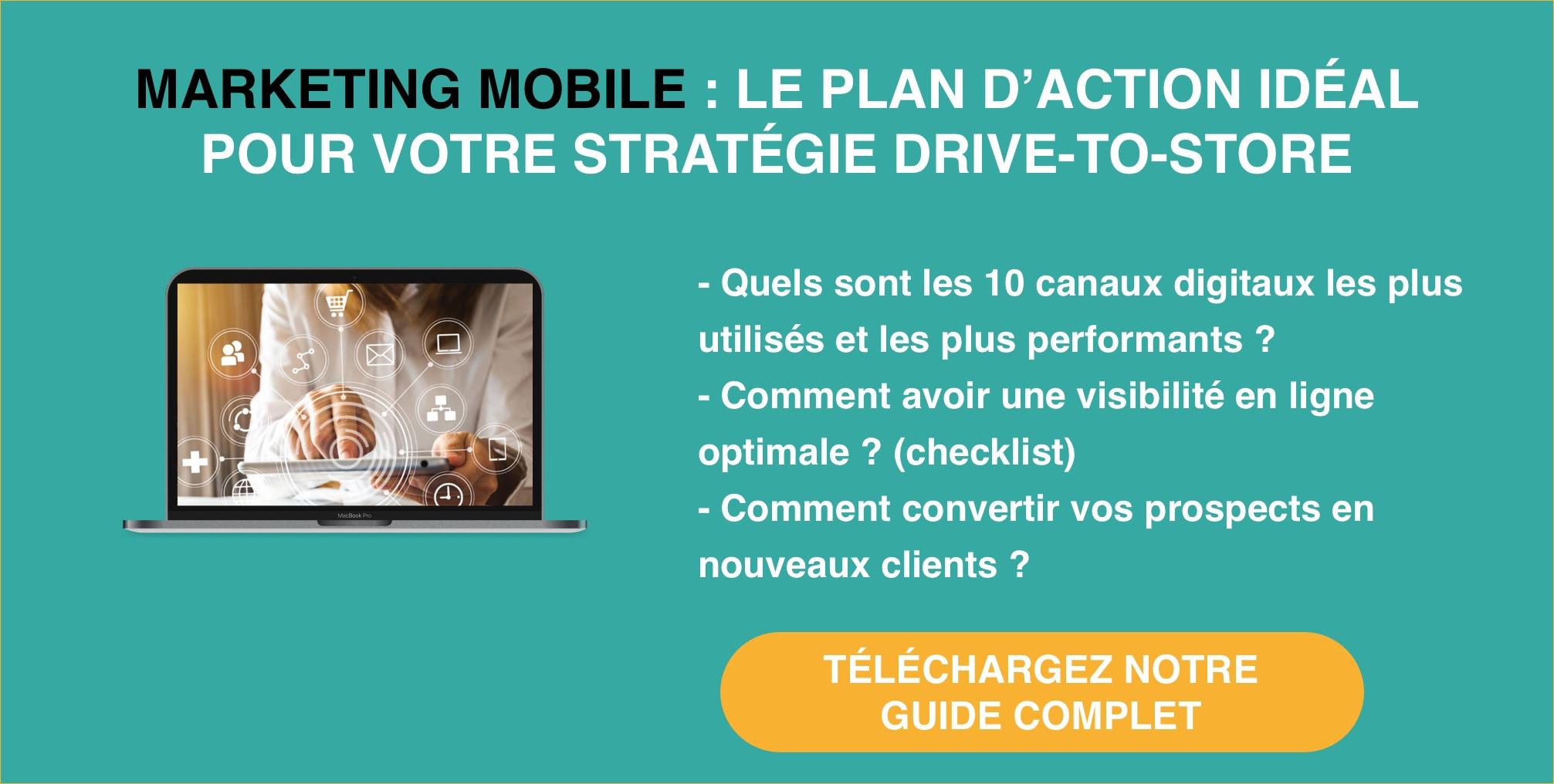 Le plan d'action idéal pour votre stratégie Drive-To-Store