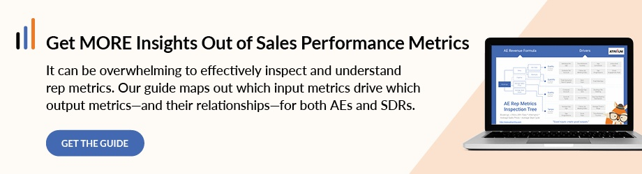 Get More Insights Out of Sales Performance Metrics