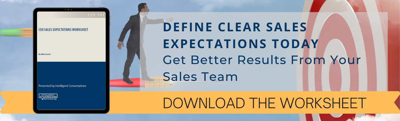 CEO Sales Expectations Worksheets for B2B companies