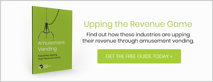 Up your revenue through amusement vending. Get the free guide today