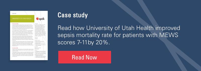 Case study: Automated sepsis alerts