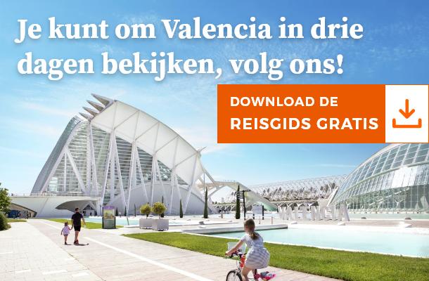 Je kunt om Valencia in drie dagen bekijken,  volg ons!