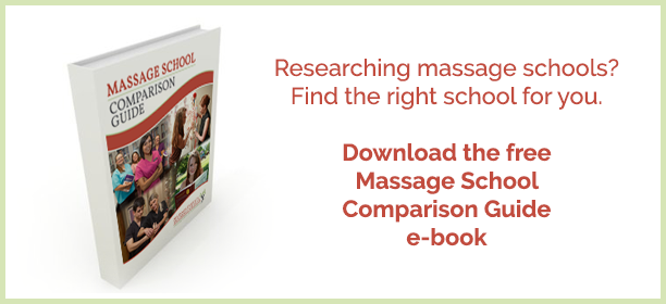 Download free Massage School Comparison Guide e-book