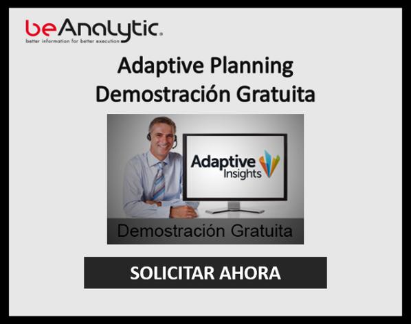 Demostracion Gratuita Adaptive Planning
