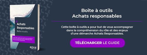 Téléchargez notre boite à outils Achats responsables