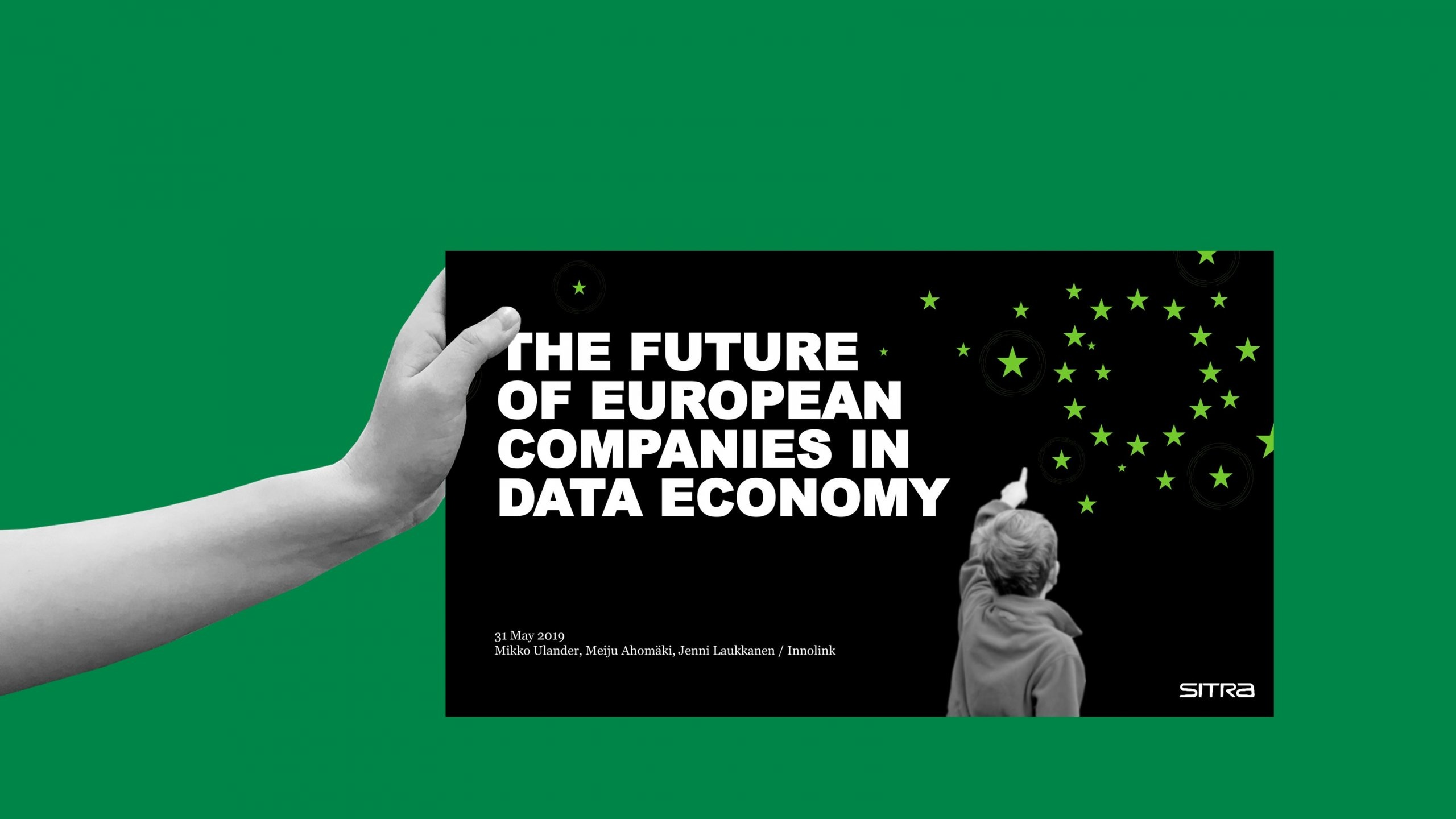 The future of European companies in data economy