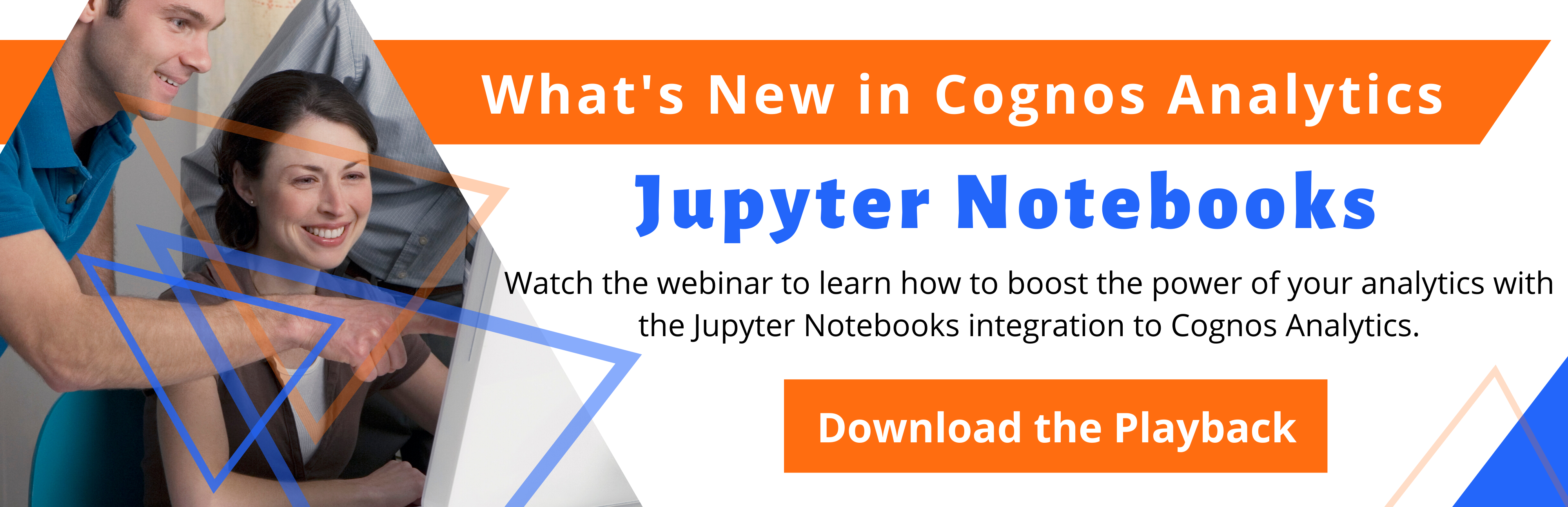 Jupyter Notebooks integration to Cognos Webinar