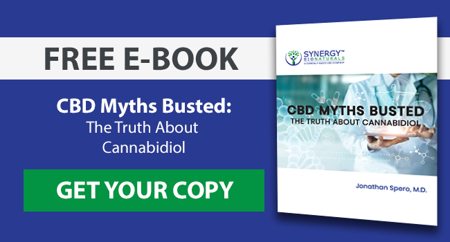Free e-book: CBD Myths Busted! The truth about cannabidiol