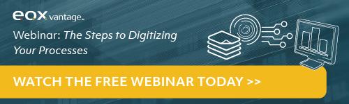 April Digital Transformation Webinar - The Steps to Digitizing Your Processes