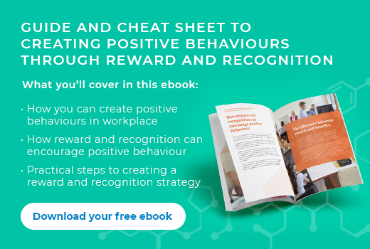 creating positive behaviours through reward and recognition