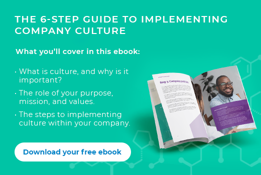 6 step guide to implementing company culture