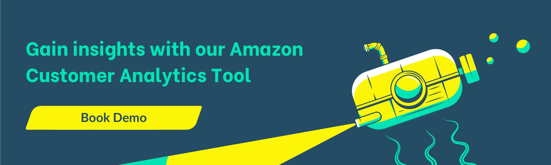 customer analytics Amazon
