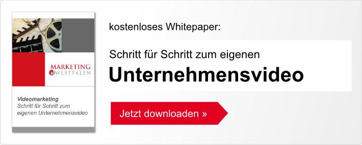 Schritt für Schritt zum eigenen Unternehmensvideo - kostenloses Whitepaper herunterladen