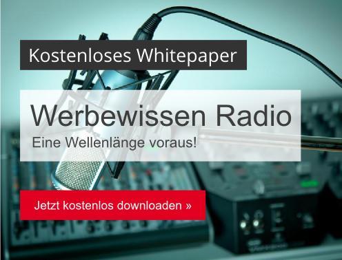 Werbewissen Radio - kostenloses Whitepaper