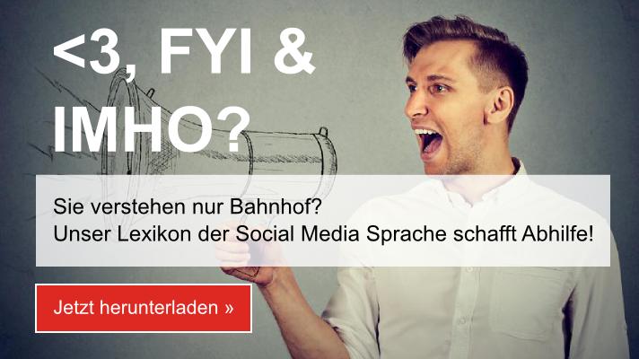 Lexikon der Social Media Sprache