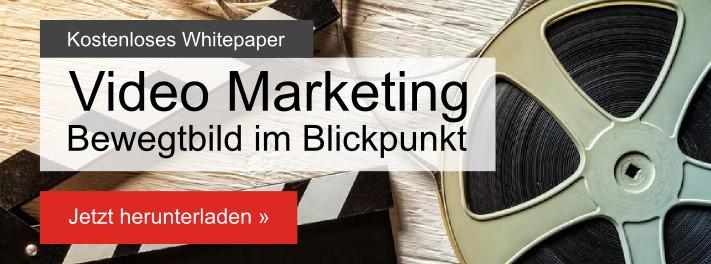 Video Marketing kostenloses Whitepaper
