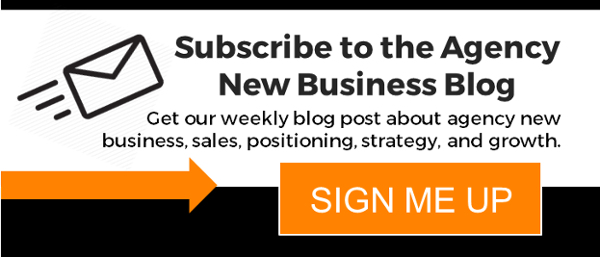 Agency New Business Blog Subscribe