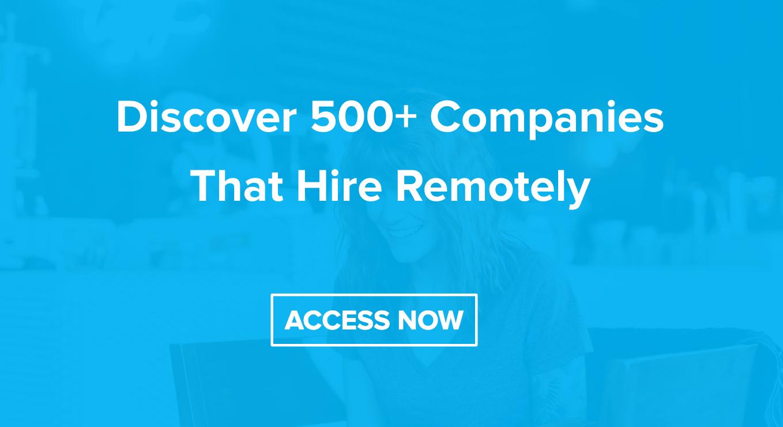 500+ Remote Companies   <>