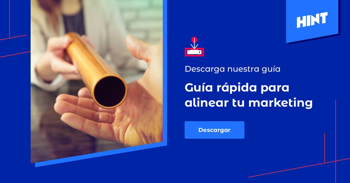 Descarga La Guía Rápida para Alinear tu Marketing con tus Ventas