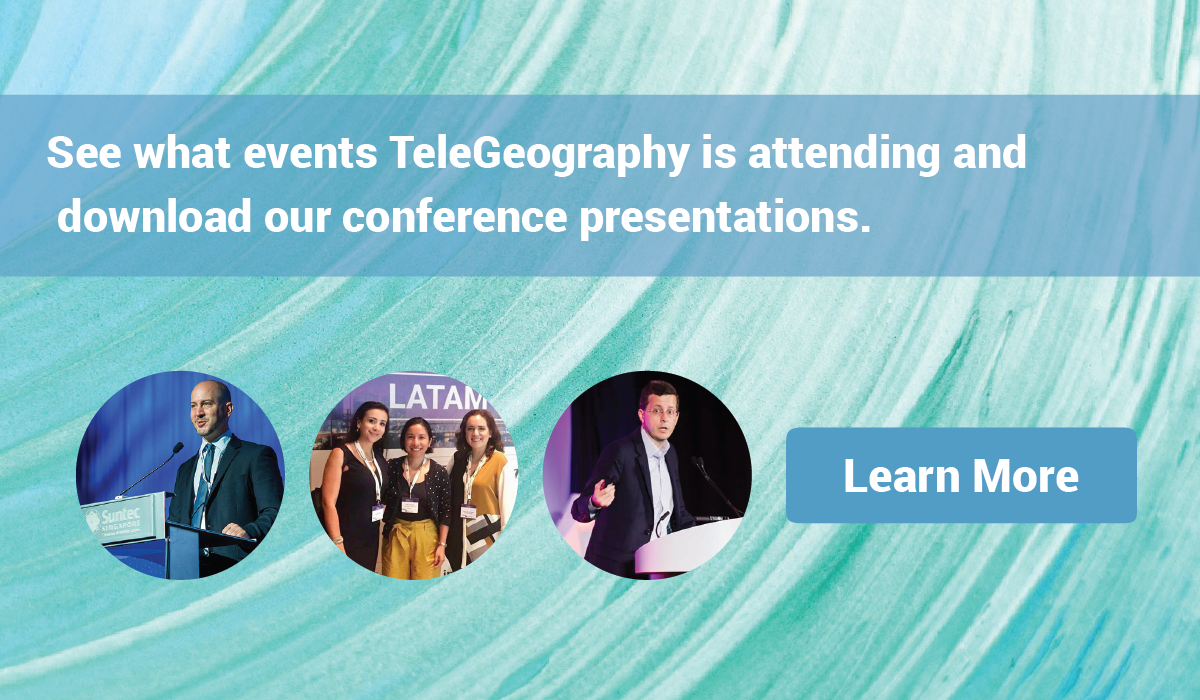 View TeleGeography Events