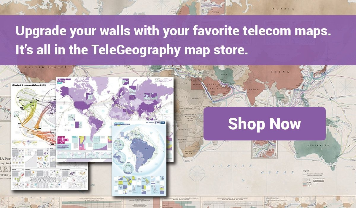 Buy a TeleGeography Map