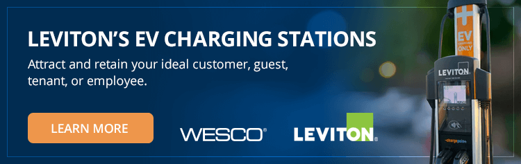 Leviton's EV Charging Stations