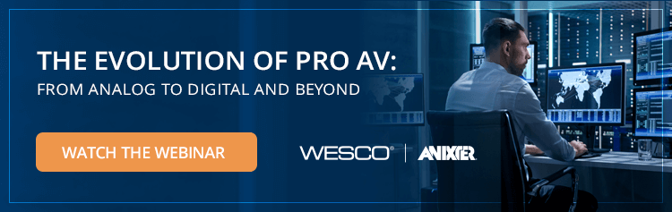 The Evolution of Pro AV: From Analog to Digital and Beyond