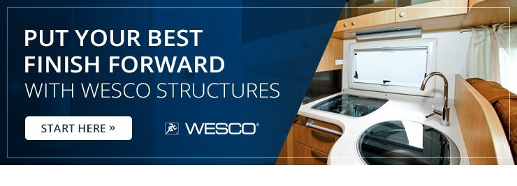 Put Your Best Finish Forward with WESCO Structures