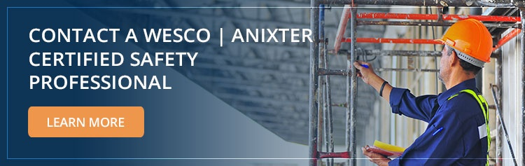 Contact a WESCO   Anixter Certified Safety Professional