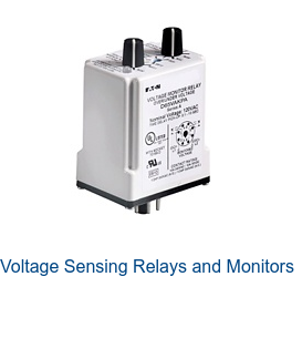 Voltage Sensing Relays and Monitors